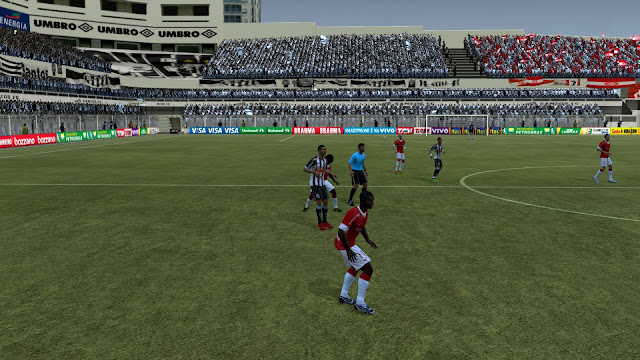 fifa12 vila+belmiro2 FIFA 12: São Januario, Pacaembú e Vila Belmiro