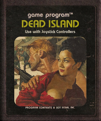 Dead Island Cartucho de Atari 2600 Retro Art Girl