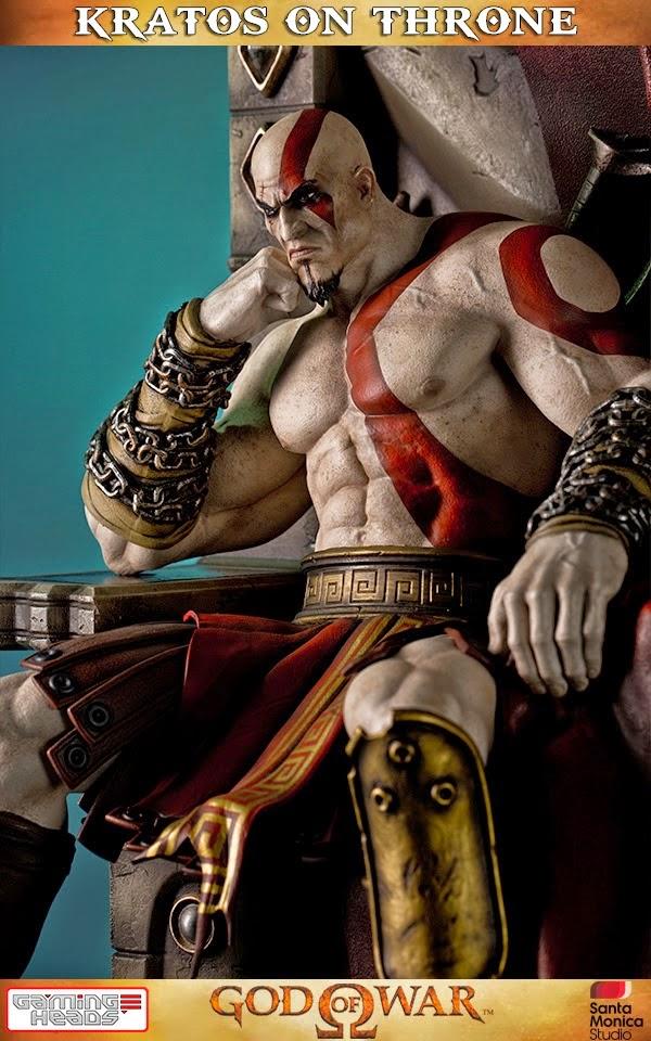 "Kratos nella sua versione ""Normal"""