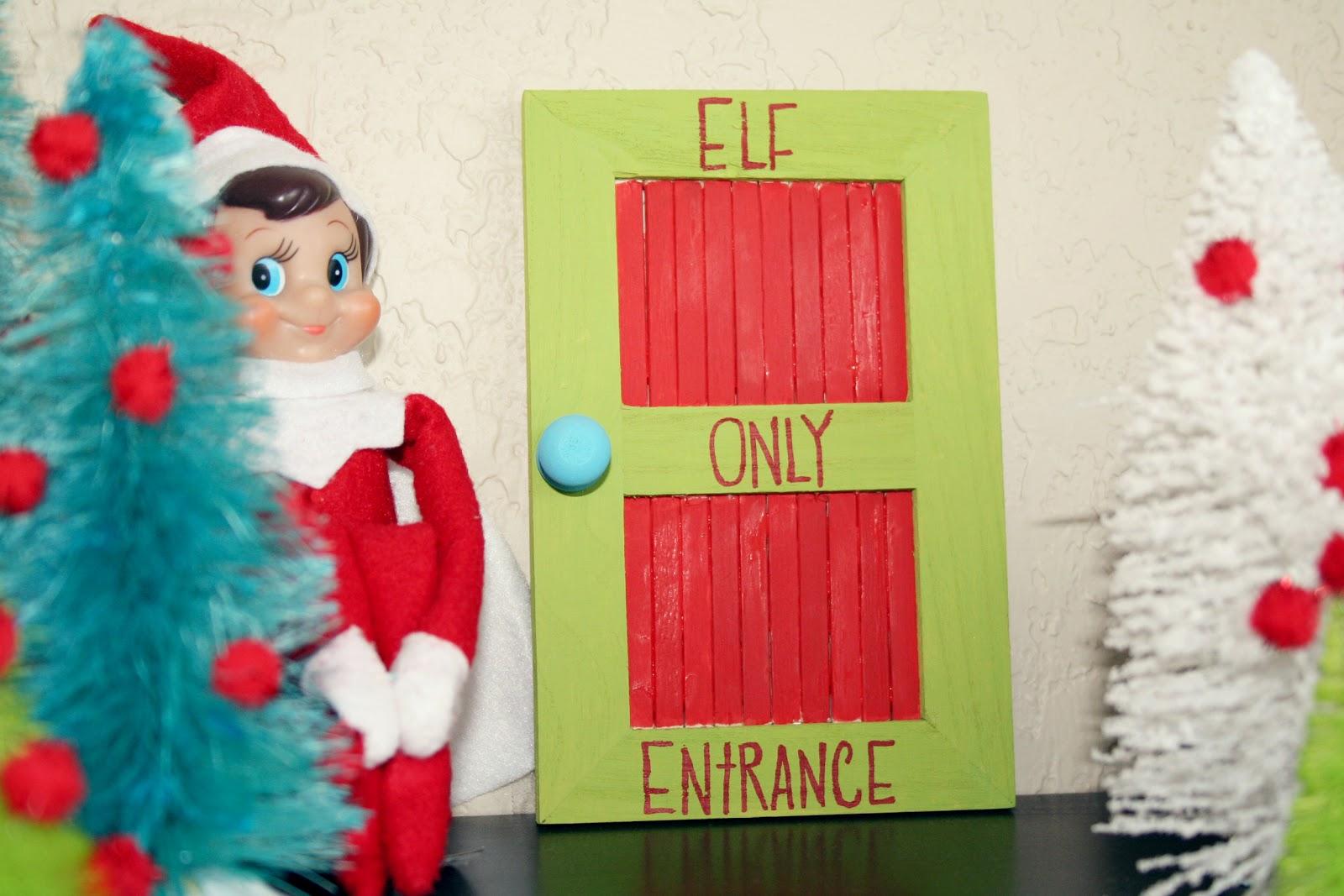 how to make an elf door