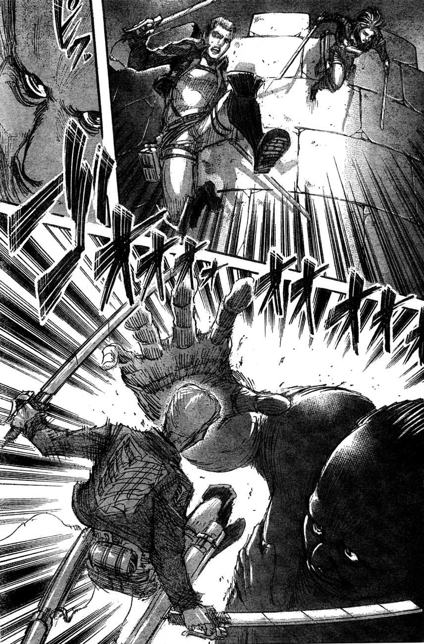 Attack on Titan chap 39 Trang 5