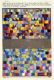 Paul Klee, Einst dem Grau der Nacht enttaucht...