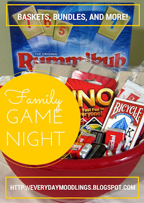 Family Game Night Gift Bundle