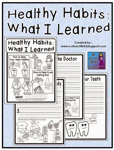 Healthy Habits Worksheets : Fioradesignstudio