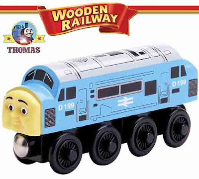 Learning Curve Toy Thomas & Friends Wooden Railway train D199 British Railway diesel character