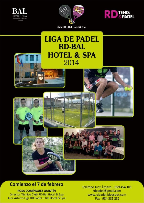 RESULTADOS II LIGA RD PADEL 2014