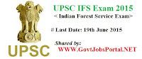 UPSC IFS Examination 2015