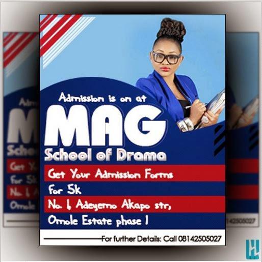 mercy aigbe drama school