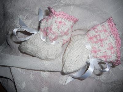 Strikka Babysokker