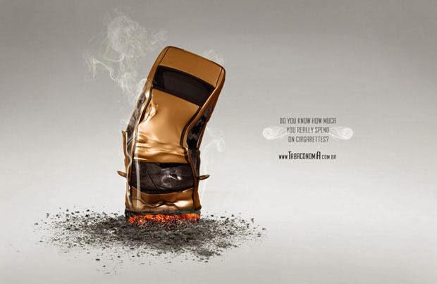 creative anti smoking ads