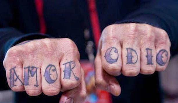 Tatuaje amor y odio