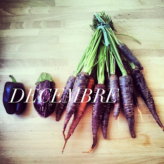paris local seasonal produce december purple carrots