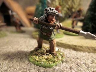 SAGA Berserkers, Hearthguard, Viking Ulfhednar from Crusader Miniatures