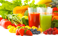Vegetable Juice for Healthy Diet