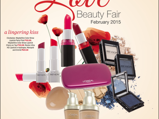Robinsons Beauty Fair 2015: In the Mood for Love