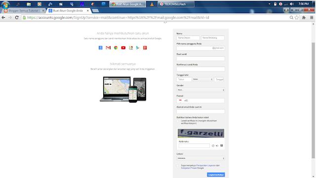 Buat Email Baru Gmail Terbaru 2015 (Beserta Gambar)
