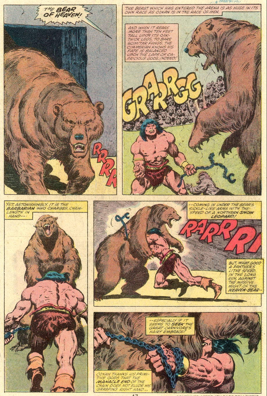 Conan the Barbarian (1970) Issue #110 #122 - English 12