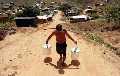 La escasez de agua será un grave problema