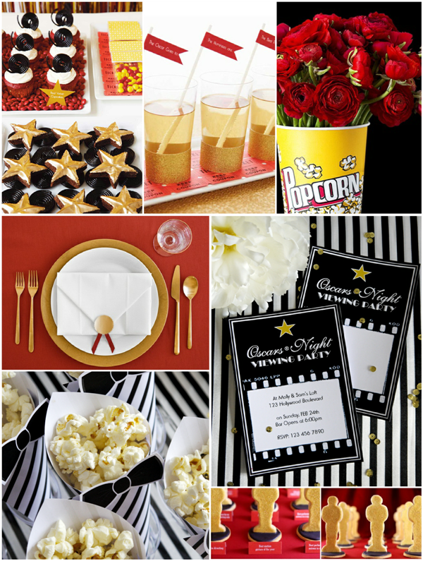 Oscars Party: Last Minute Party Ideas and Inspiration