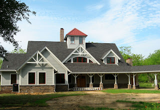Florida timber frame home
