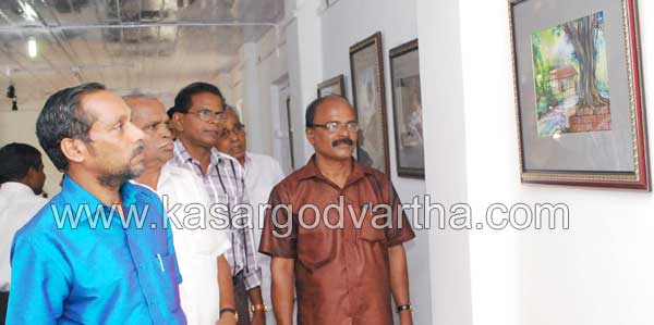 Ravi Pilicode, Art gallery, Drawing exhibition, Kanhangad, Kasaragod, Kerala, Malayalam news, Kasargod Vartha, Kerala News, International News, National News, Gulf News, Health News, Educational News, Business News, Stock news, Gold News