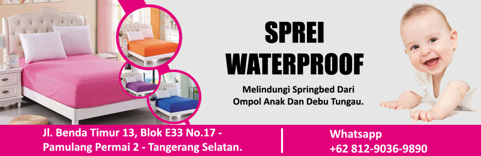 JUAL SPREI WATERPROOF | Whatsapp Only 08128274488