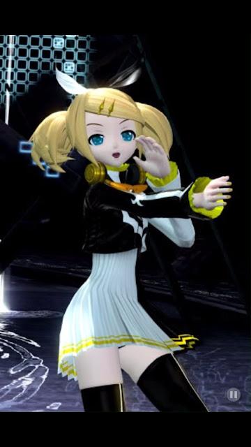 Rin costume Hatsune Miku game