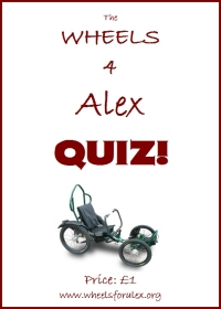 The Wheels 4 Alex Quiz!