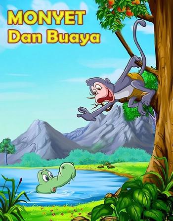 Dongeng Fabel Monyet Dan Buaya Cerita Anak Dongeng Legenda