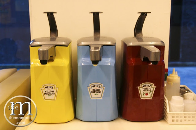 Large Heinz Condiments dispenser