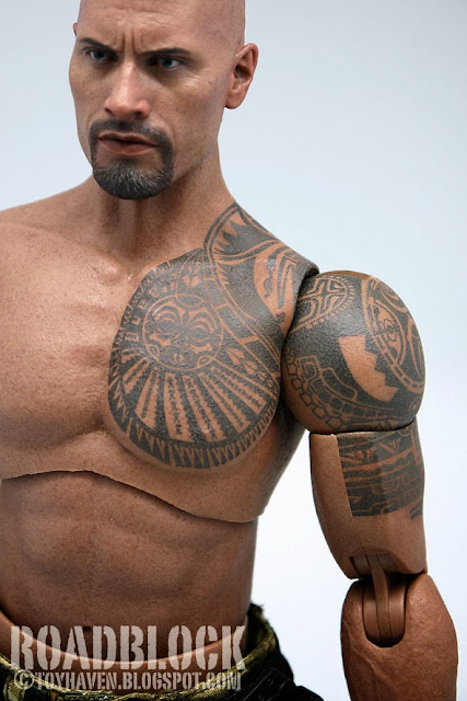 Toyhaven review 1 hot toys g i joe retaliation 1 6 for Tribal warrior tattoos