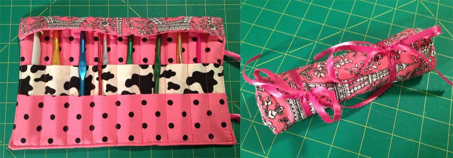 Fabric Mart Fabricistas Diy Tutorial Crochet Hook Case