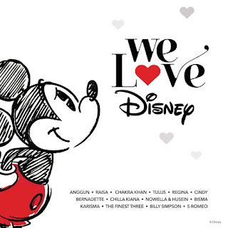 We Love Disney Indonesia (Full Album 2015)