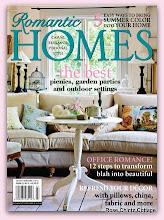 Thank you Romantic Homes magazine