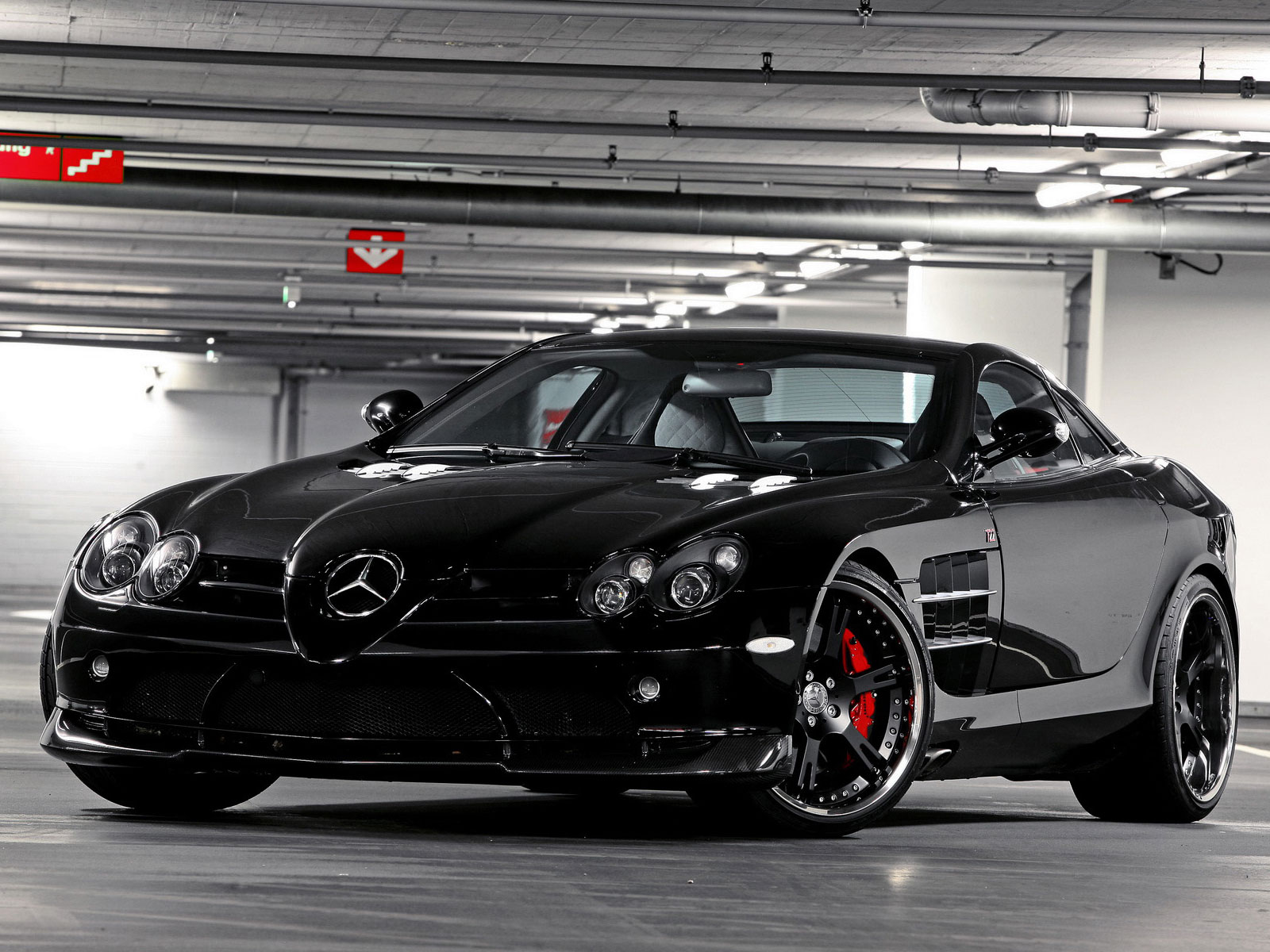 2012 venom mercedes benz slr for Mercedes benz slr