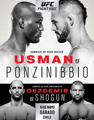 Ver UFC Fight Night Chile: Usman vs Ponzinibbio