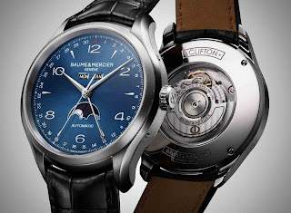 baume & mercier Clifton Complete Calendar - Moon Phase, Blue Dial
