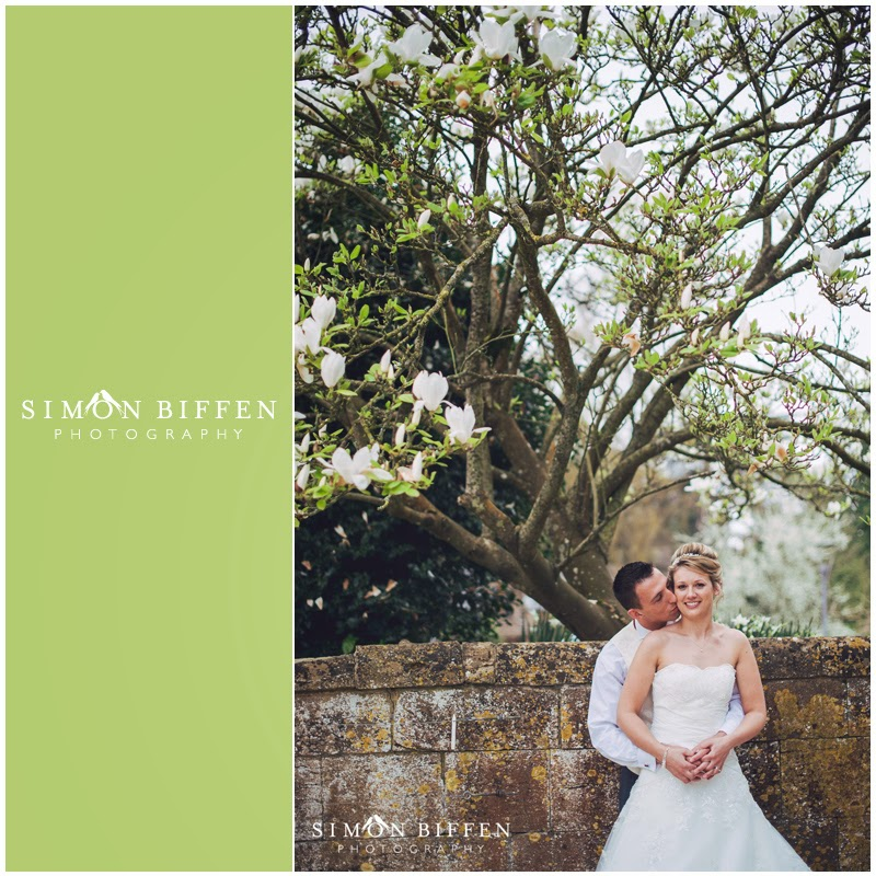 Bride and Groom wedding photography at Dillington House