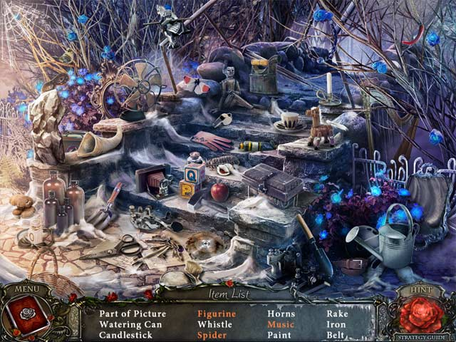 Living Legends: Ice Rose Collector's Edition. Hidden Object scene.