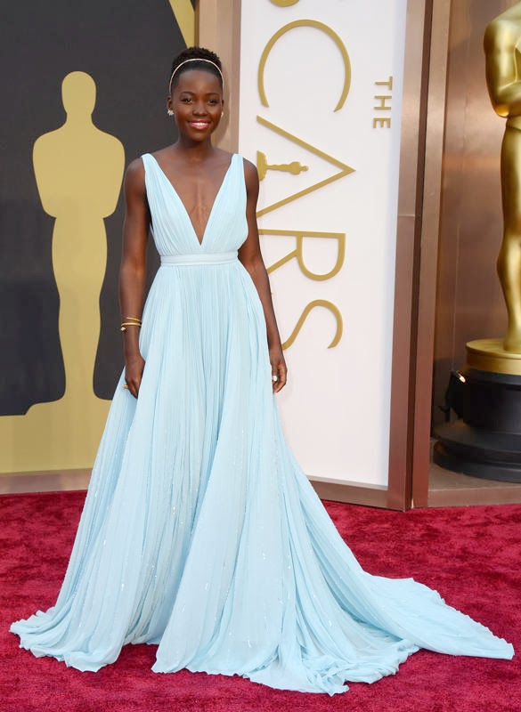 Oscars 2014 Red Carpet, Lupita Nyong'o