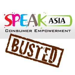 Speak Asia Fraud