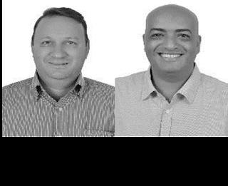 Edu Martini e Marquinho Abrão candidatos a prefeito em Cristalina nas eleições 2012
