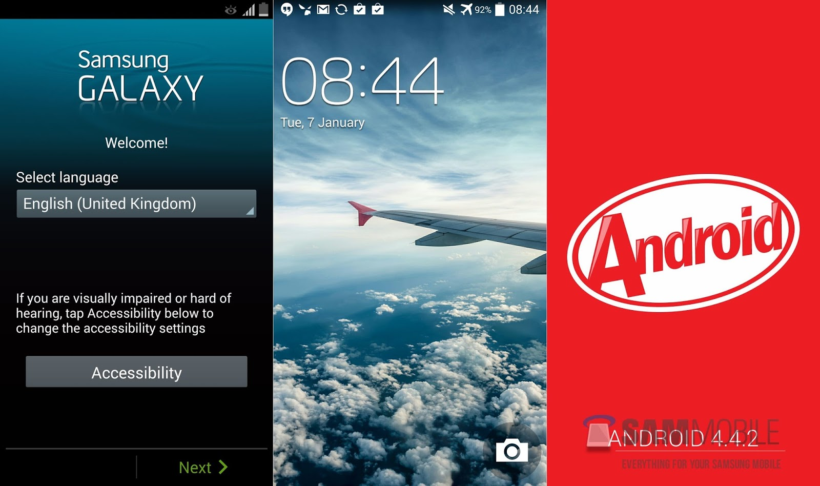 Upgrade Samsung Galaxy S4 ke Kitkat 4.4.2 Official