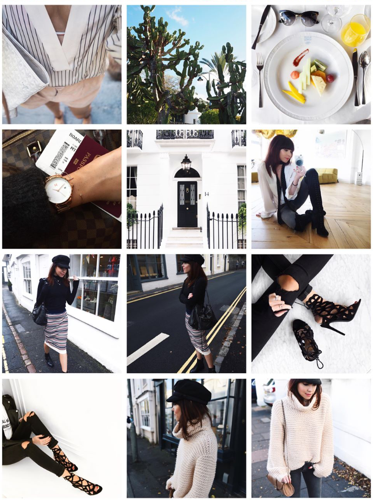 Lorna Luxe Instagram Account