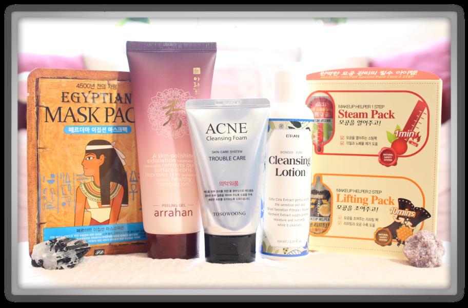 겟잇뷰티박스 by 미미박스 memebox beautybox # Special #19 Cleansing Kit unboxing review box look inside
