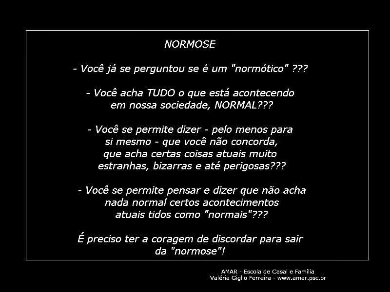 NORMOSE...???
