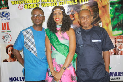 Frills As Dozie Eboh Premiere's Girl-Child Movie