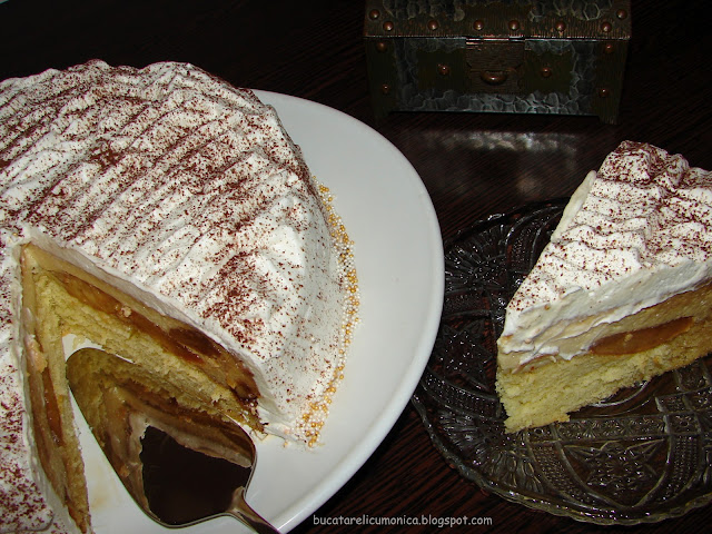 tort cu crema de zahar ars 3