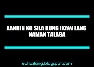 Aanhin ko sila, kung ikaw lang naman talaga.