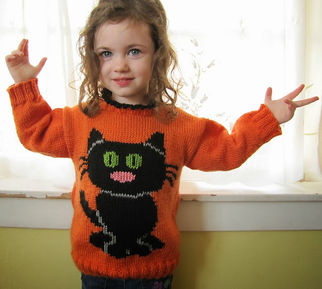 Knitting Pattern Cat Clothes : The Knitting Needle and the Damage Done: Halloween ...